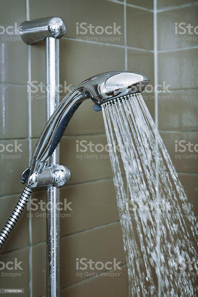 Mobile Modular Shower royalty-free stock photo