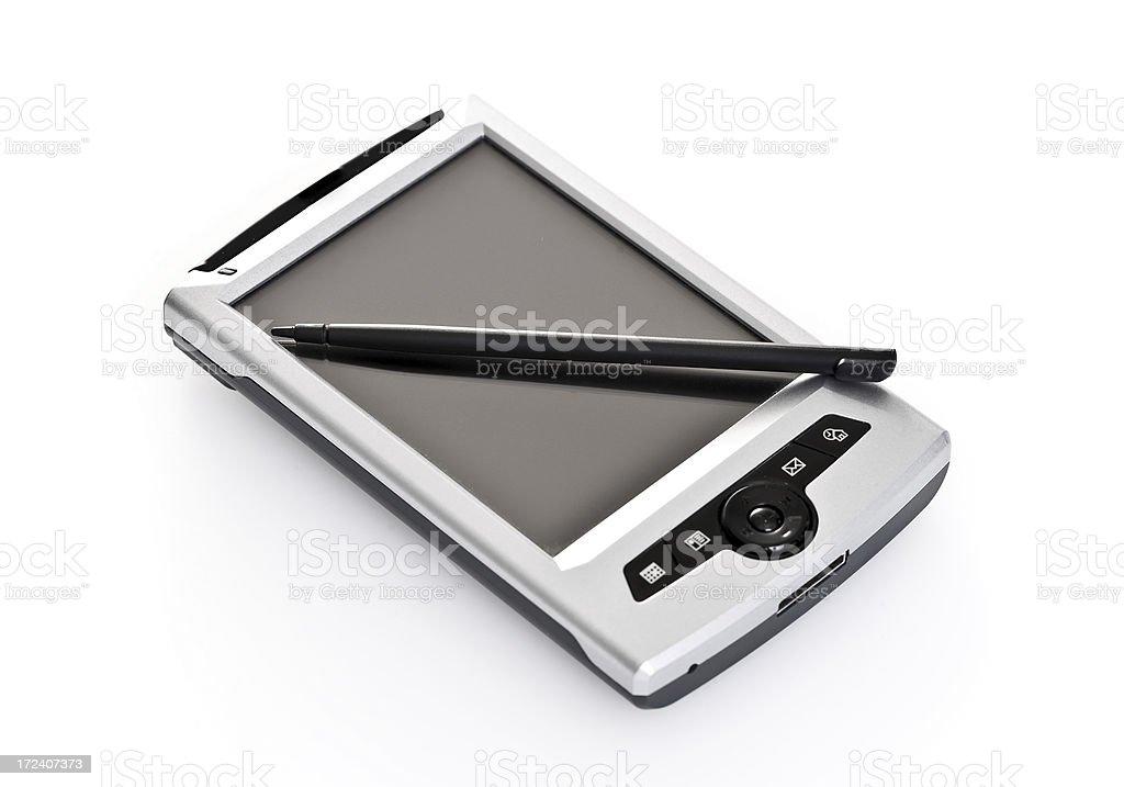 Mobile PDA stock photo