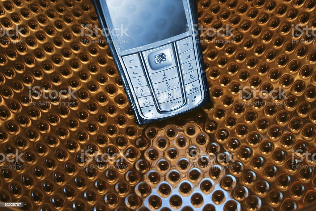 Mobile Phone 3 royalty-free stock photo