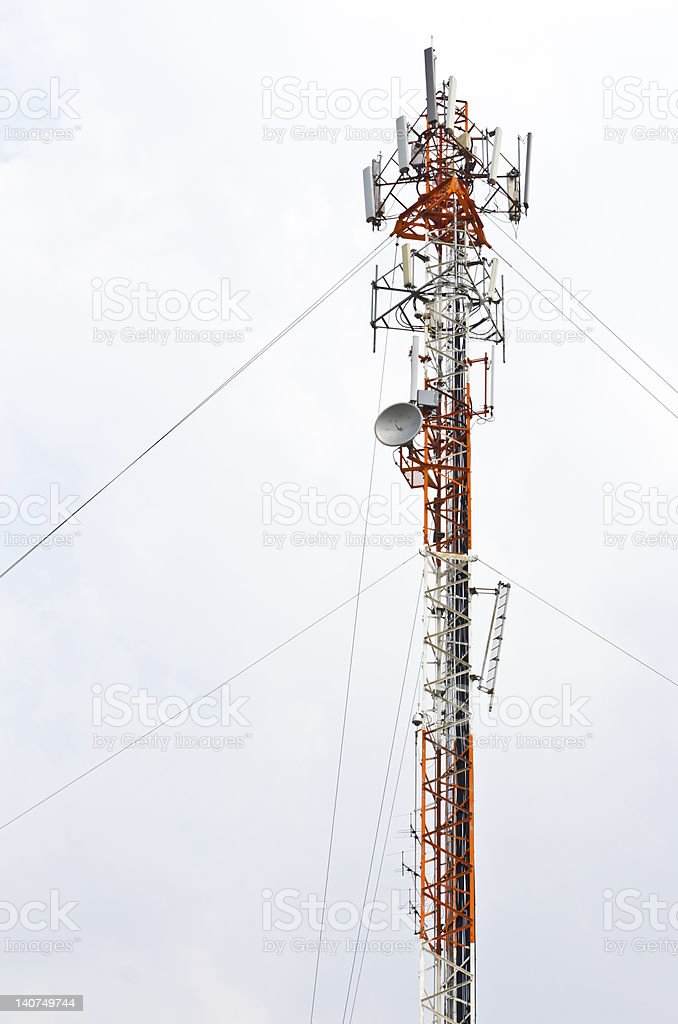 antenna telefono cellulare foto stock royalty-free