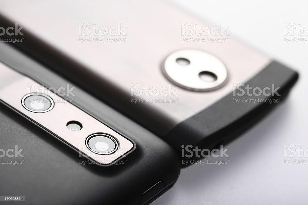 Mobile phone camera royalty-free stock photo