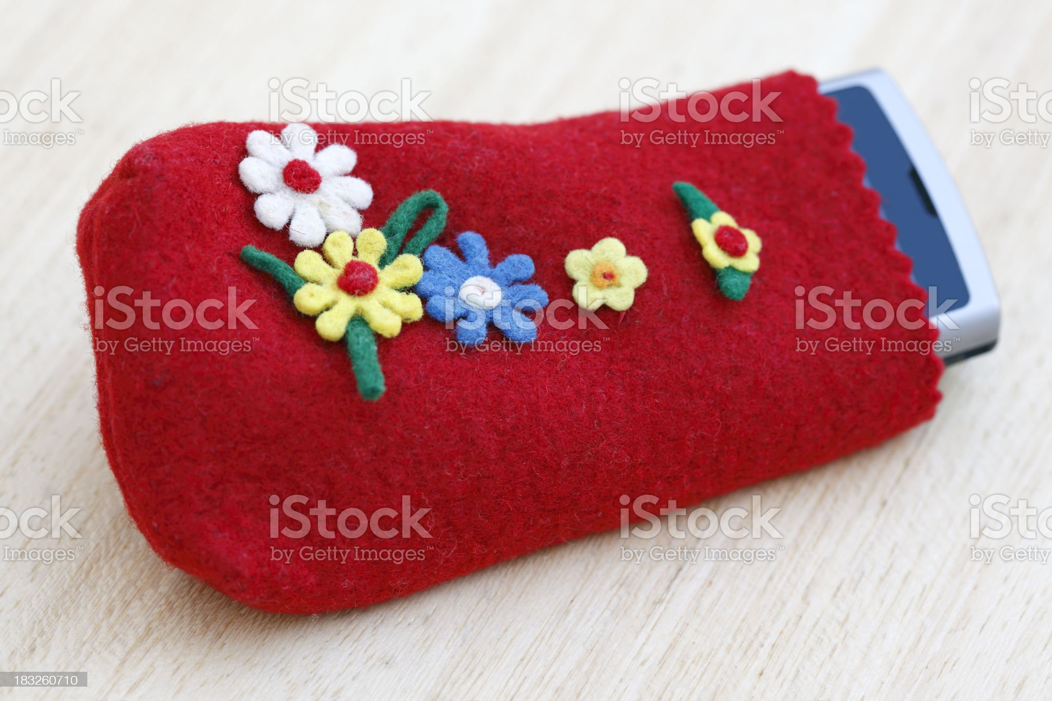 Mobile Phone Case royalty-free stock photo