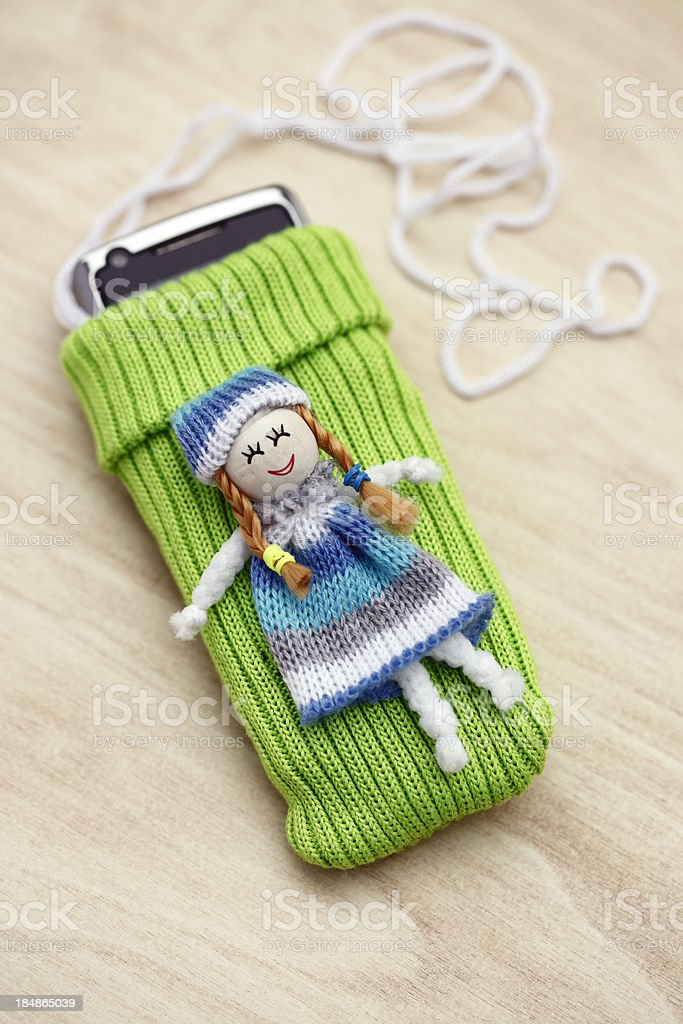 Mobile Phone Case stock photo