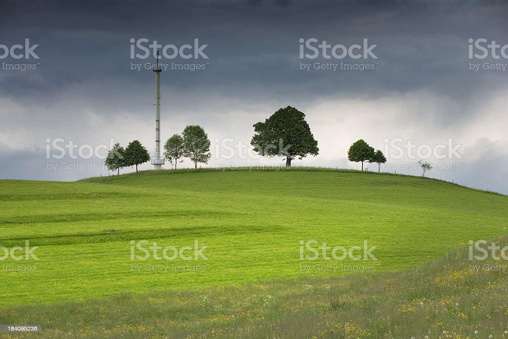 Mobile Phone Mast stock photo