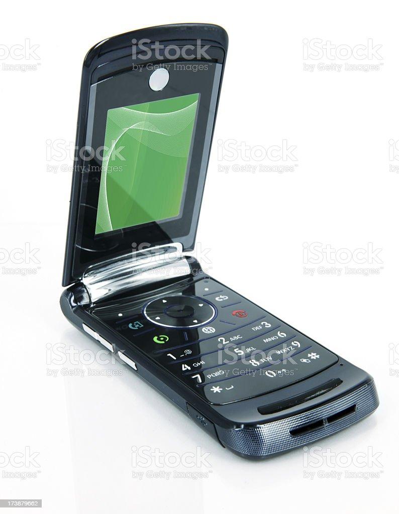 Mobile Phone on White royalty-free stock photo