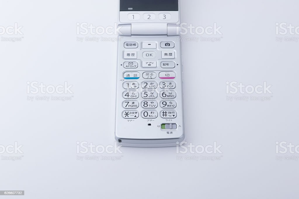 Mobile phone stock photo