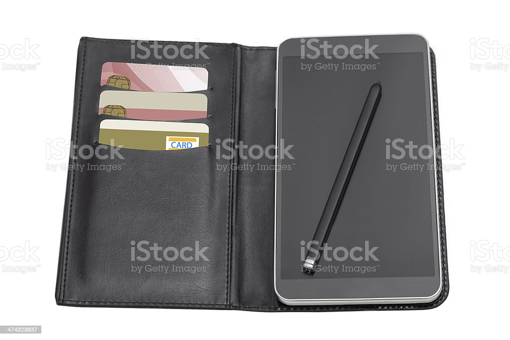 Mobile Phone Protection stock photo