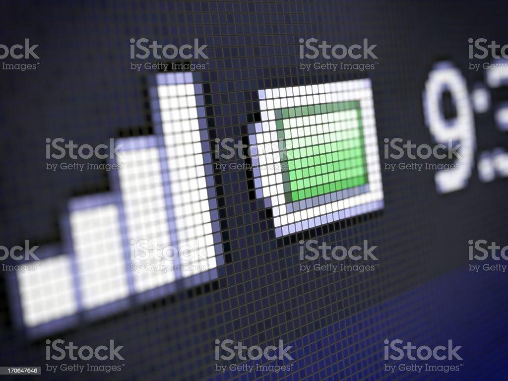 Mobile Phone screen stock photo