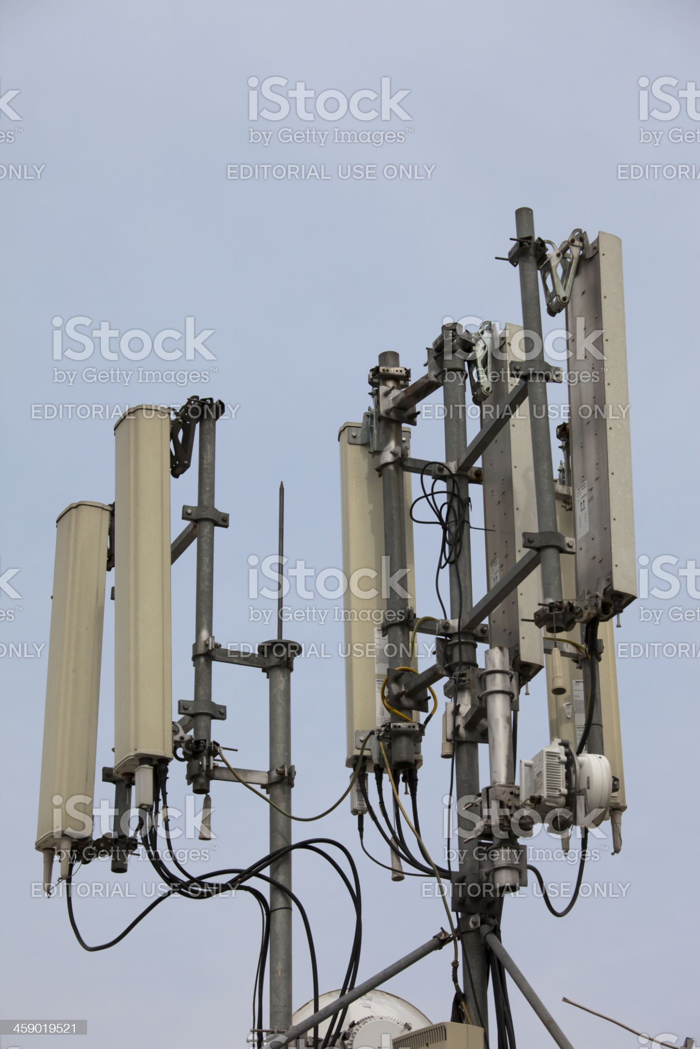 Mobile Phone Tower royalty-free stock photo