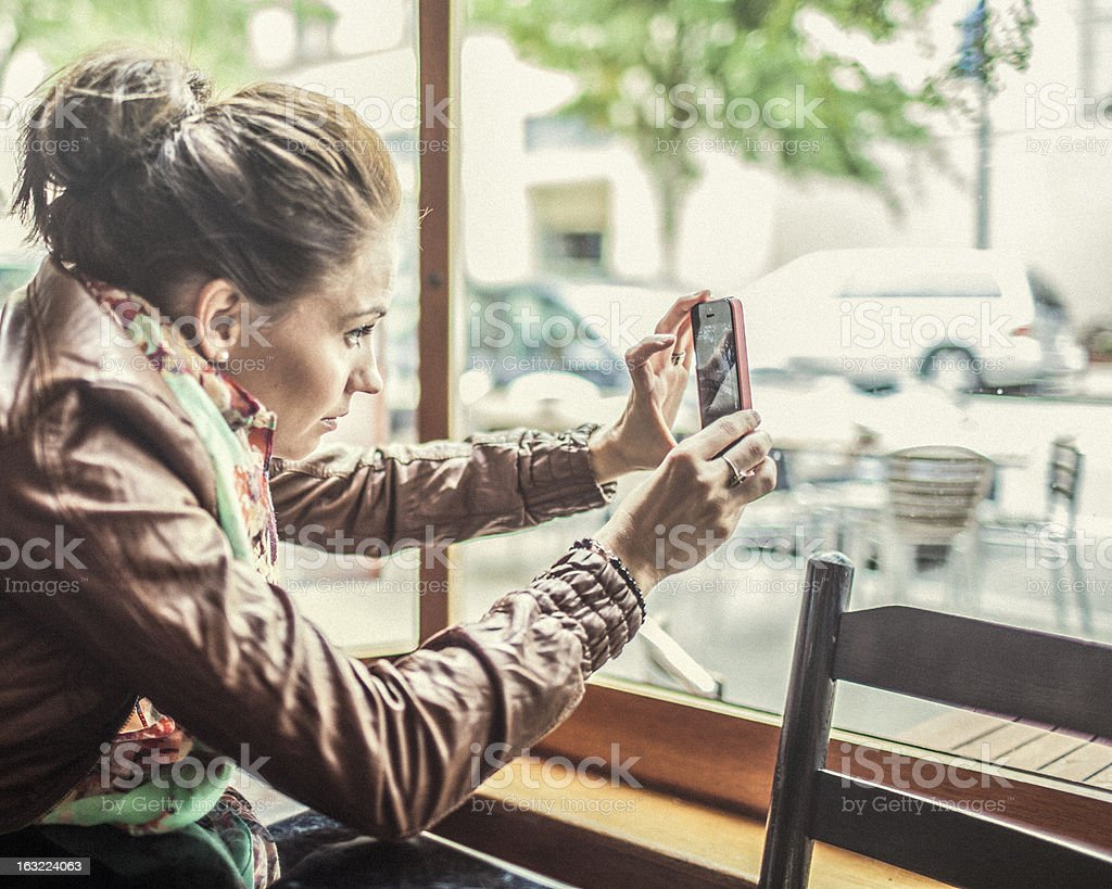 Mobile photography royalty-free stock photo