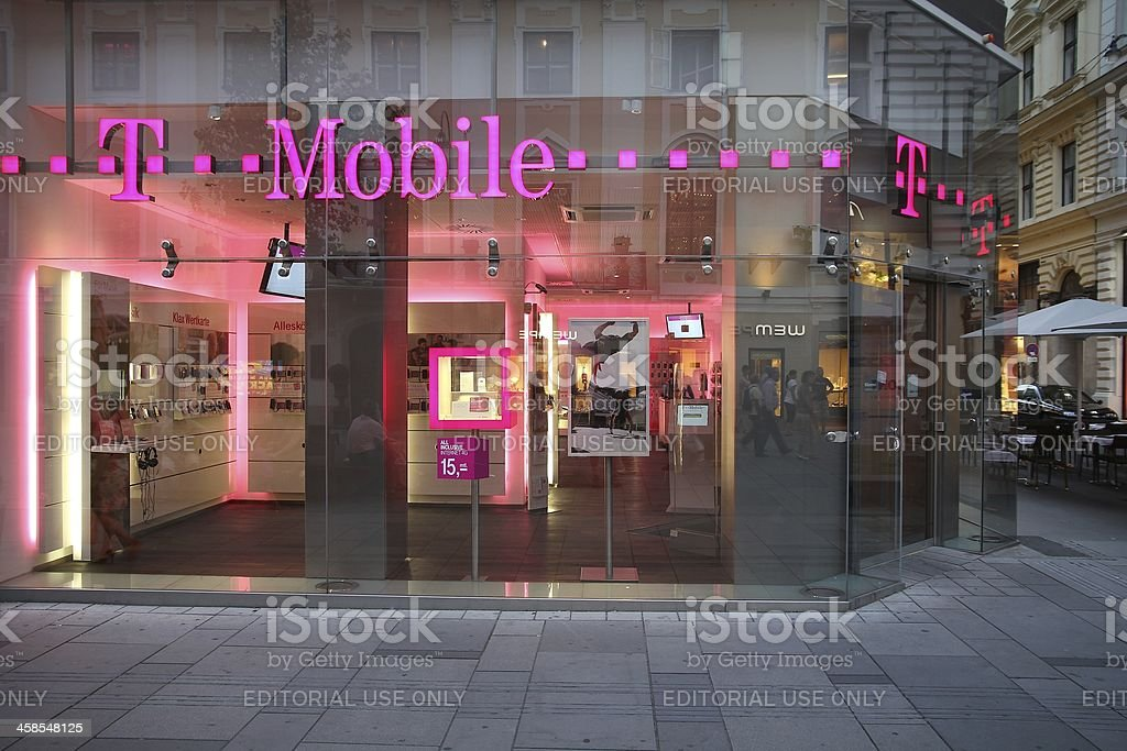 T Mobile royalty-free stock photo