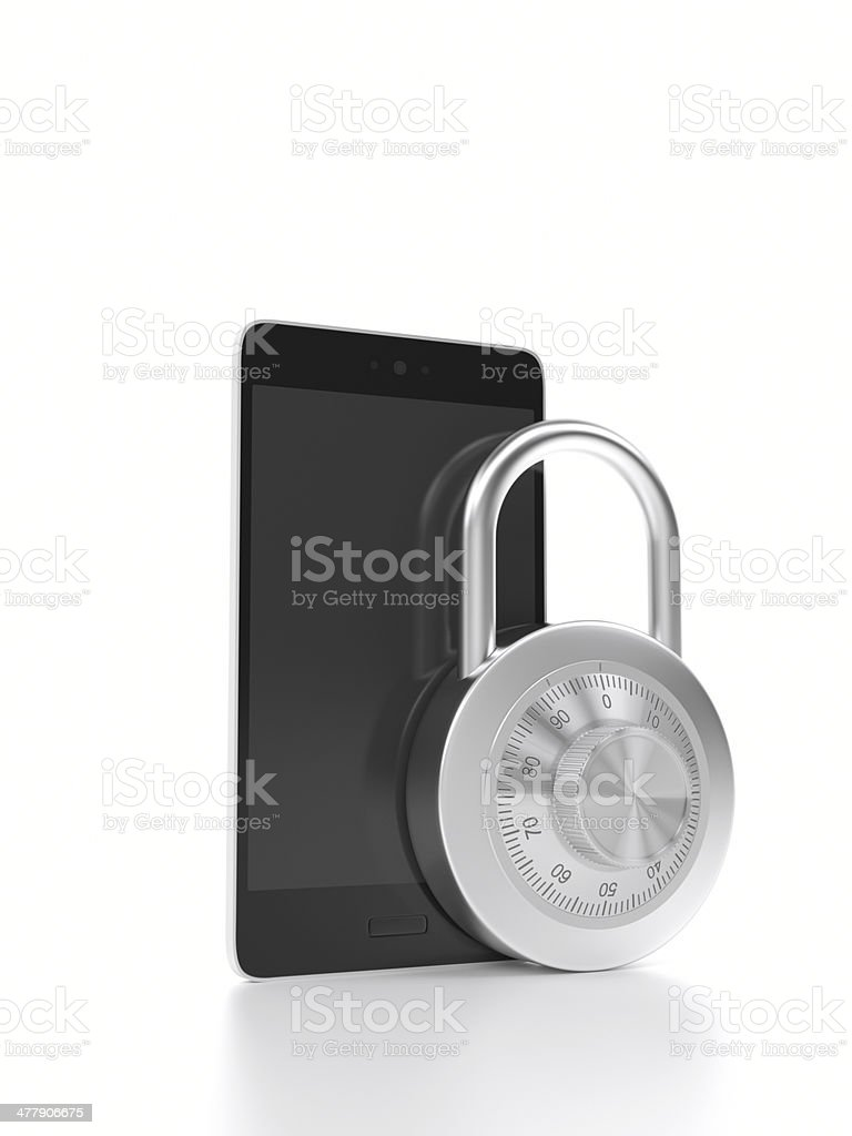 Mobile Security XL+ royalty-free stock photo