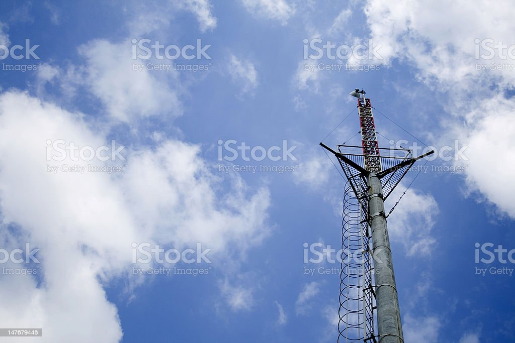 Mobile station royalty-free stock photo