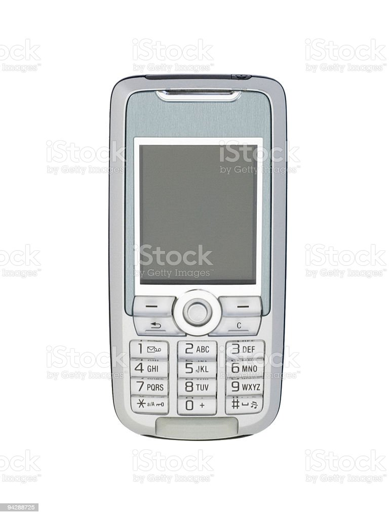 Mobile telephone stock photo