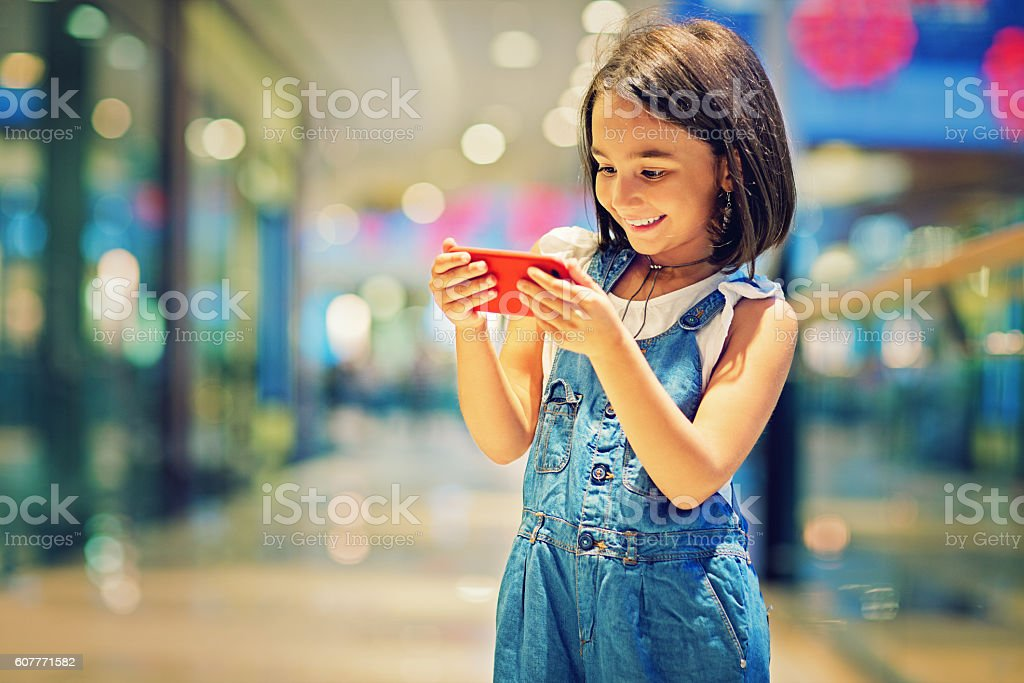 Mobile era stock photo