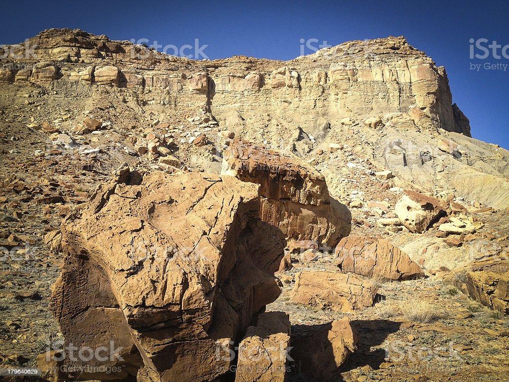 mobilestock desert badlands landscape stock photo