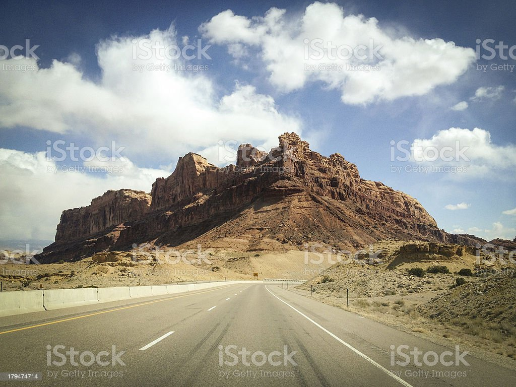 mobilestock desert freeway royalty-free stock photo