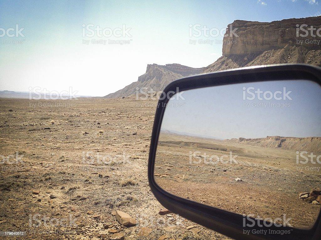 mobilestock desert road trip landscape stock photo