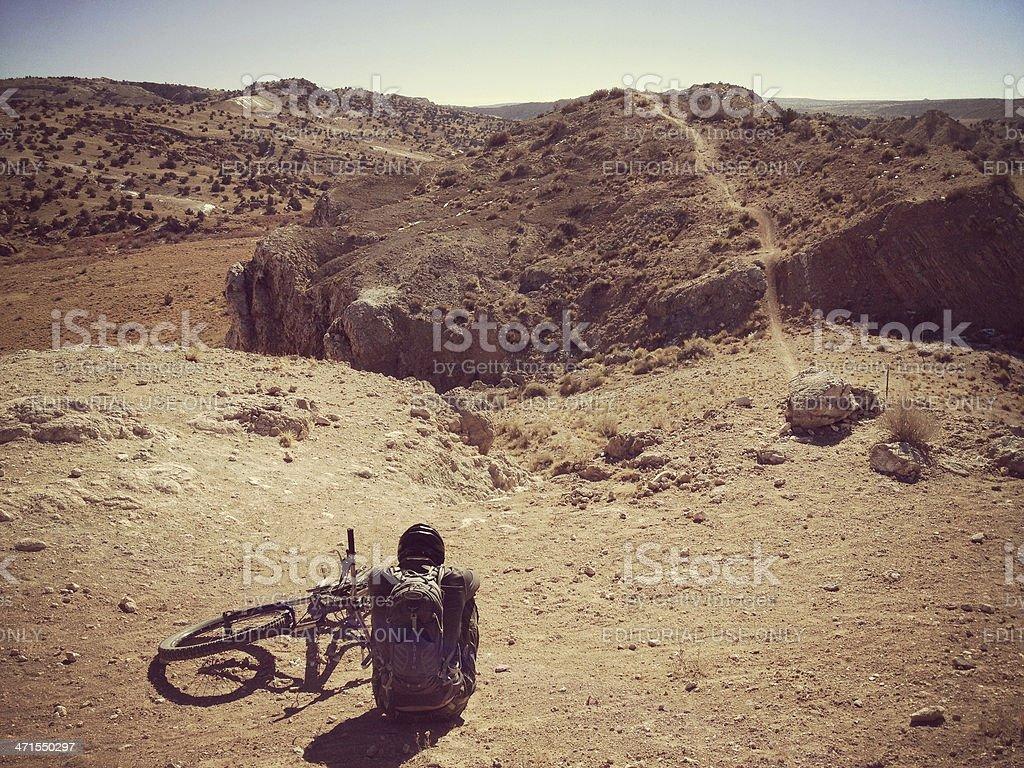mobilestock mountain biking stock photo