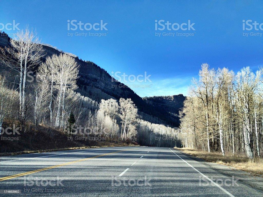 mobilestock rocky mountain road trip stock photo
