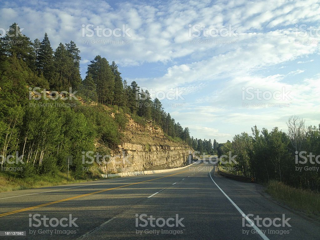 mobilestock rocky mountain road trip sunrise stock photo