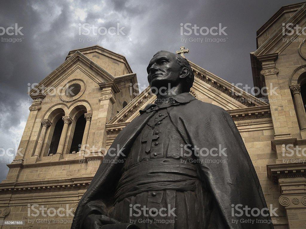 mobilestock saint francis cathedral santa fe royalty-free stock photo