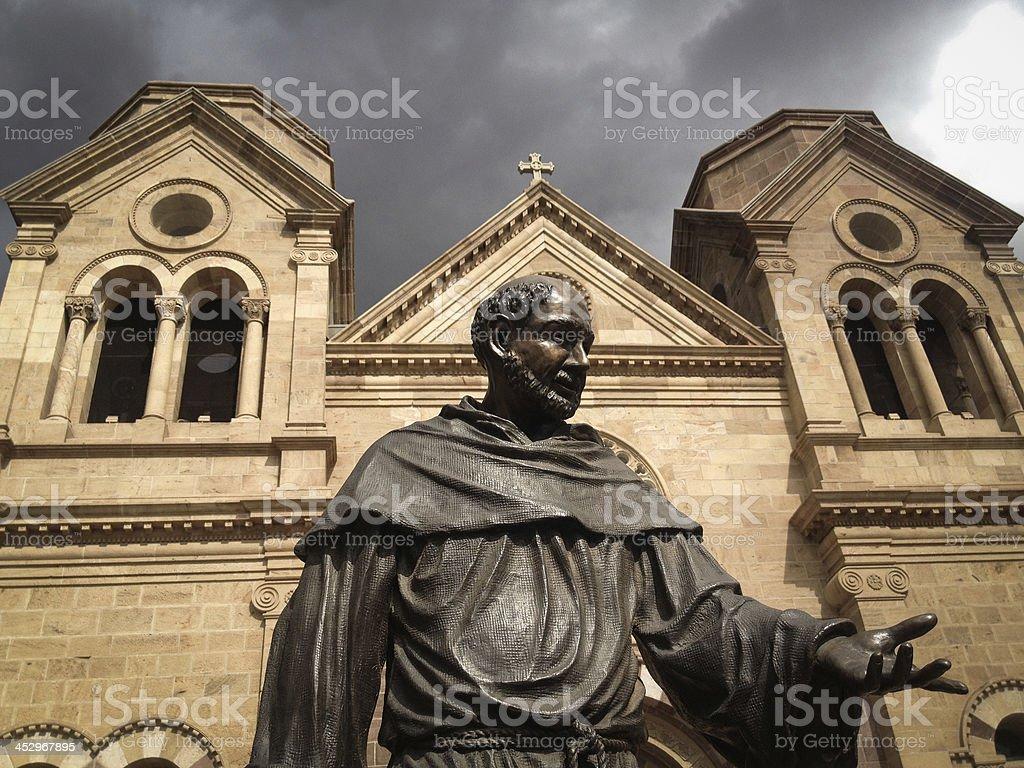 mobilestock saint francis cathedral santa fe stock photo