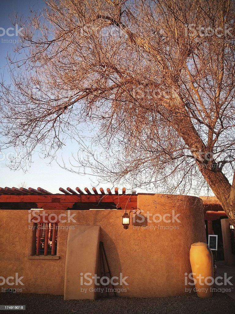 mobilestock southwest architecture sunset royalty-free stock photo