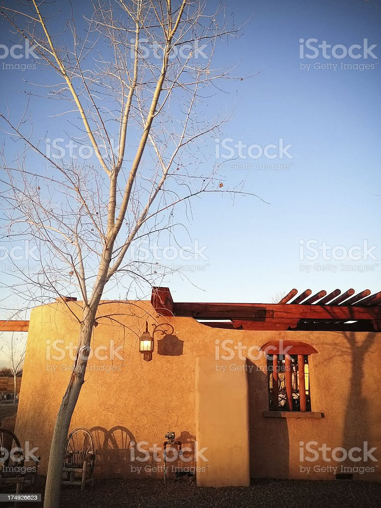 mobilestock southwest architecture sunset royalty-free stock photo