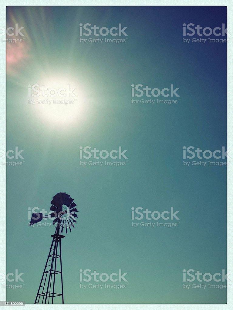mobilestock wind power sunshine stock photo