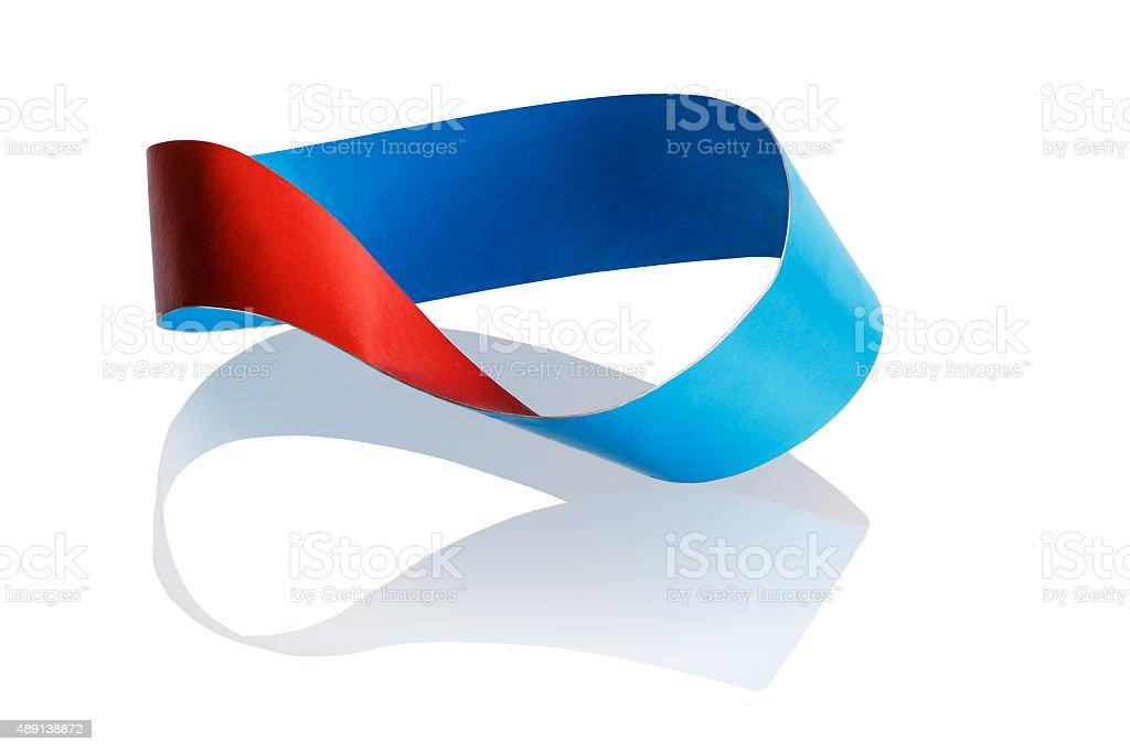Mobius band stock photo
