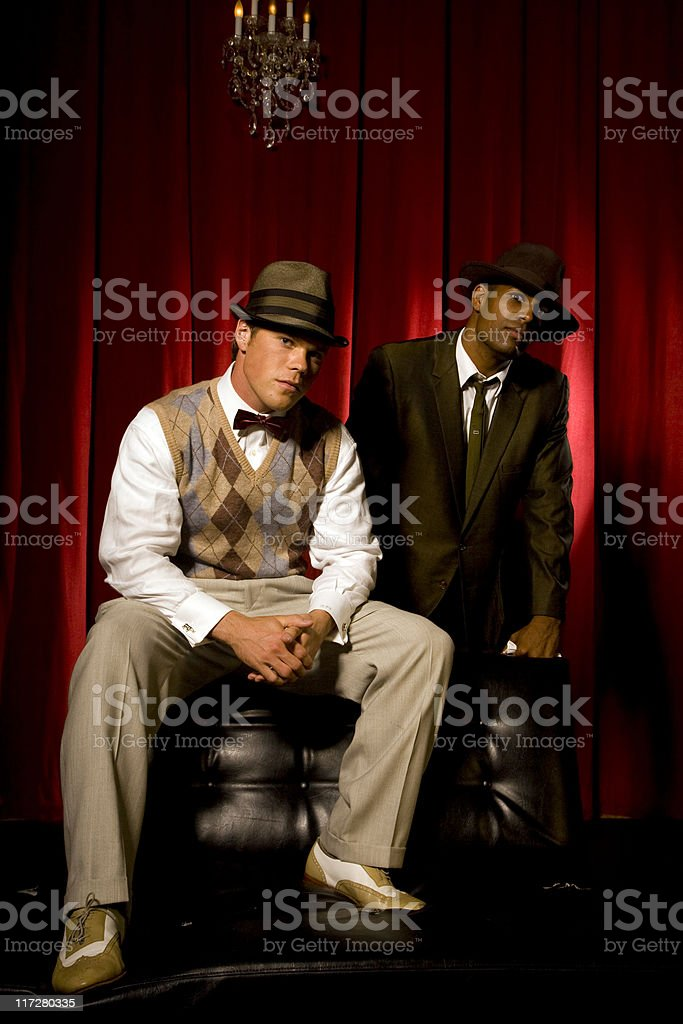 mobsters royalty-free stock photo