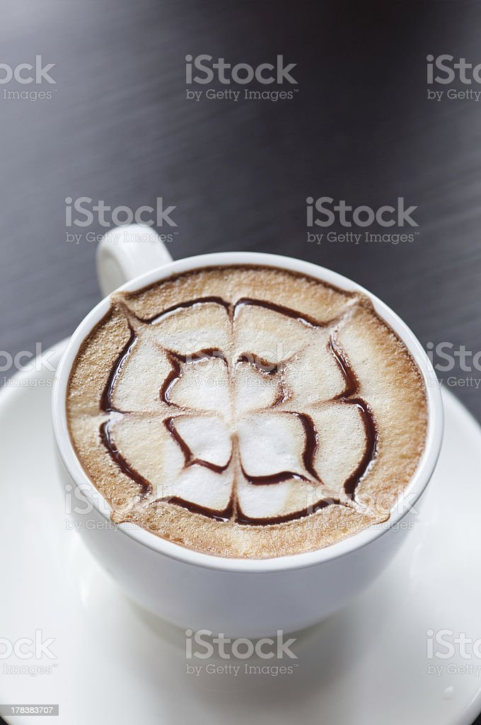 mocha coffee drink royalty-free stock photo