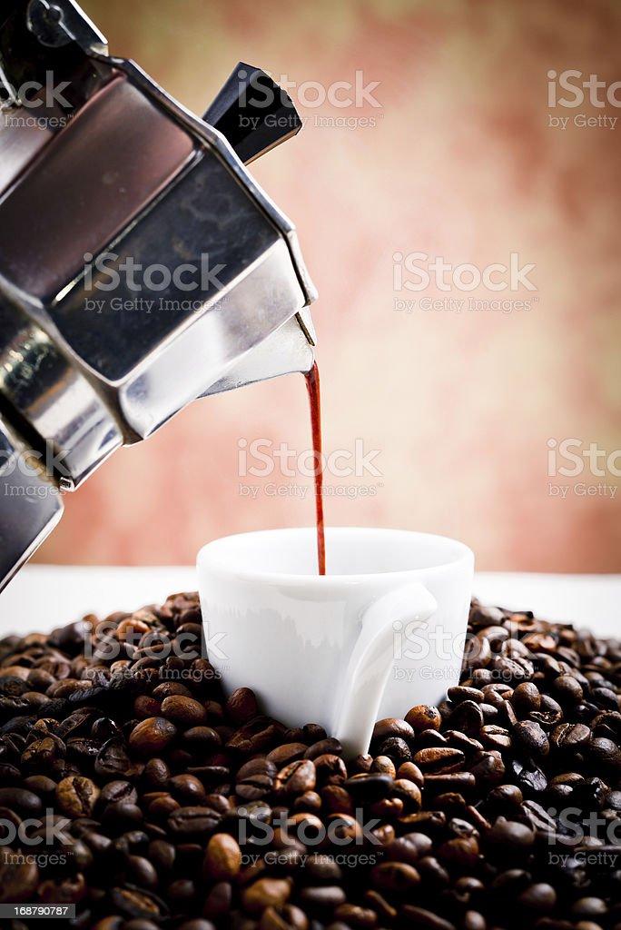 mocha coffee royalty-free stock photo