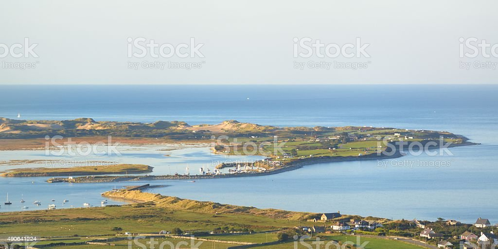 Mochras(Shell Island) stock photo