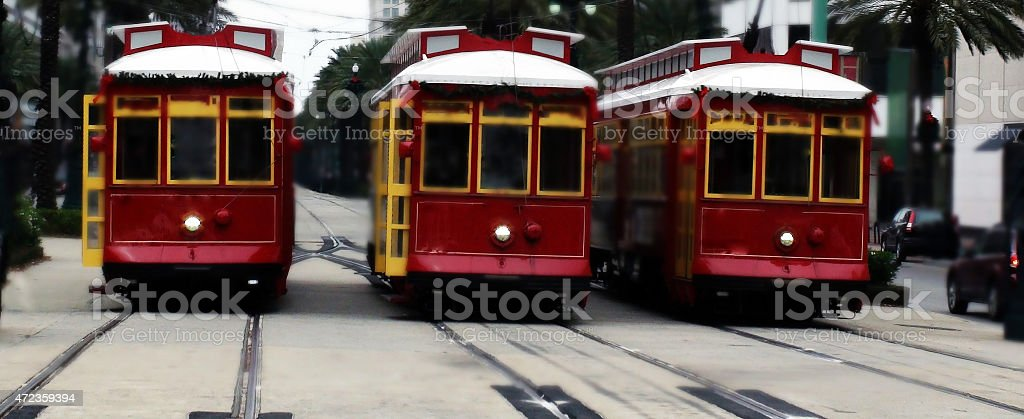 Mode Of Transport in New Orleans stock photo