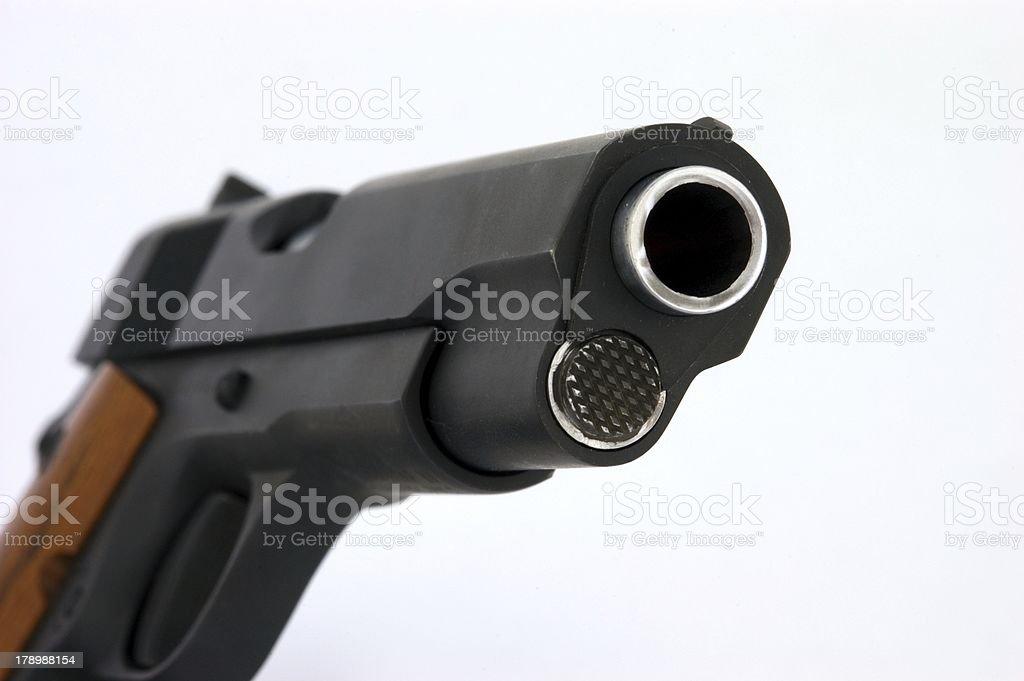 Model 1911 .45 Caliber Pistol royalty-free stock photo