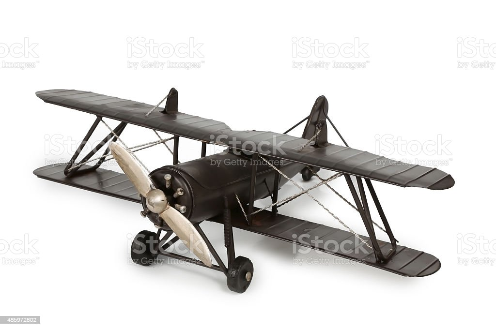 model aircraft stock photo