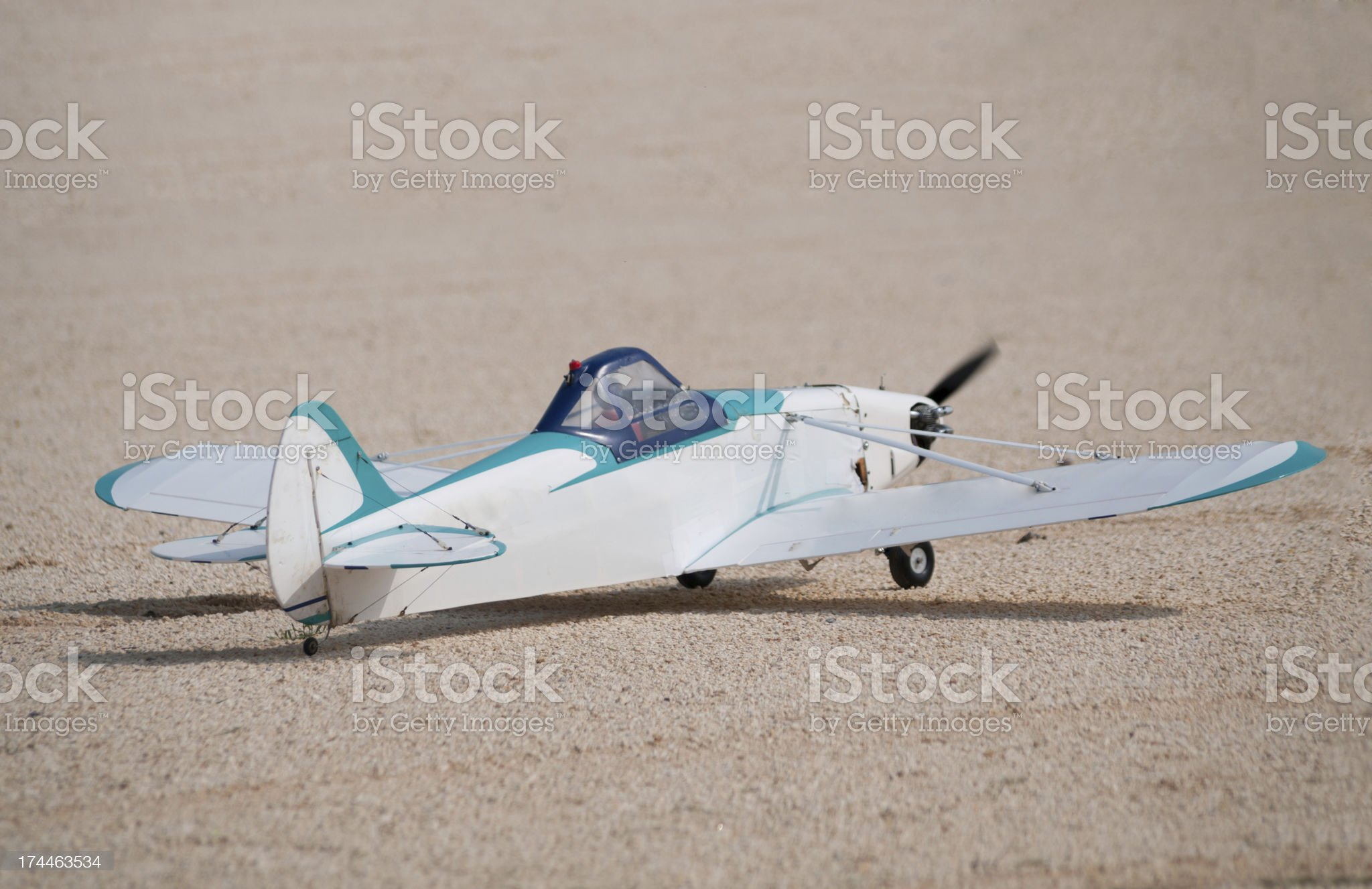 Model Airplane royalty-free stock photo