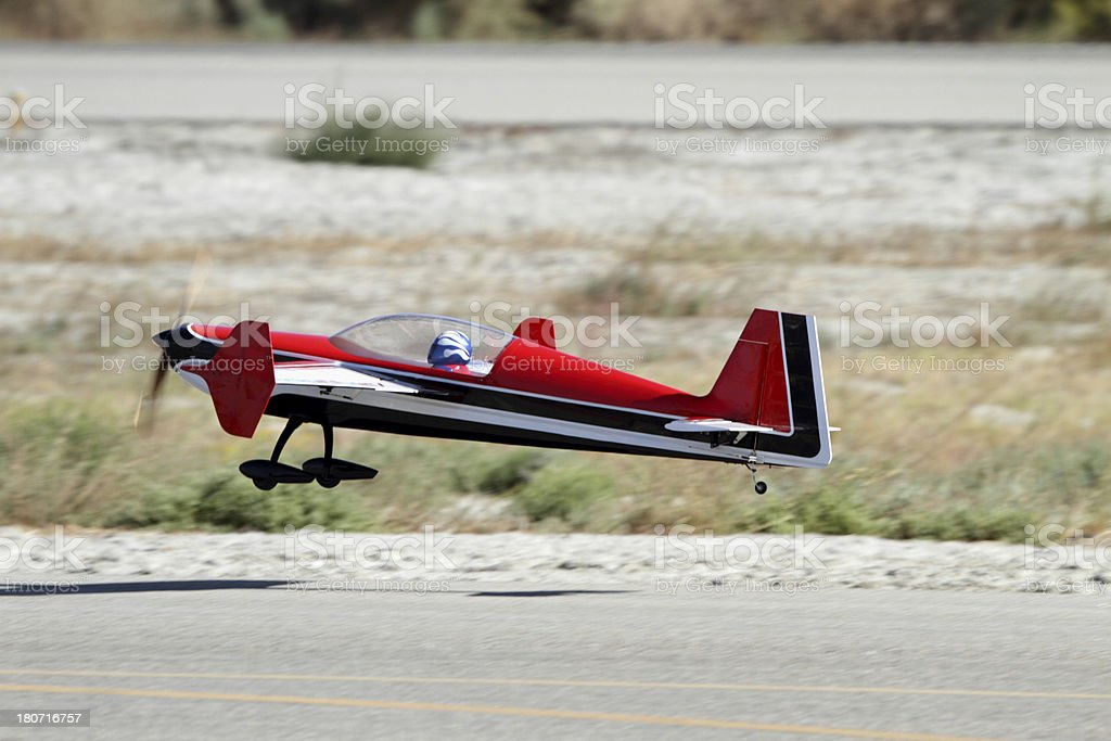 Model Airplane royalty-free stock photo