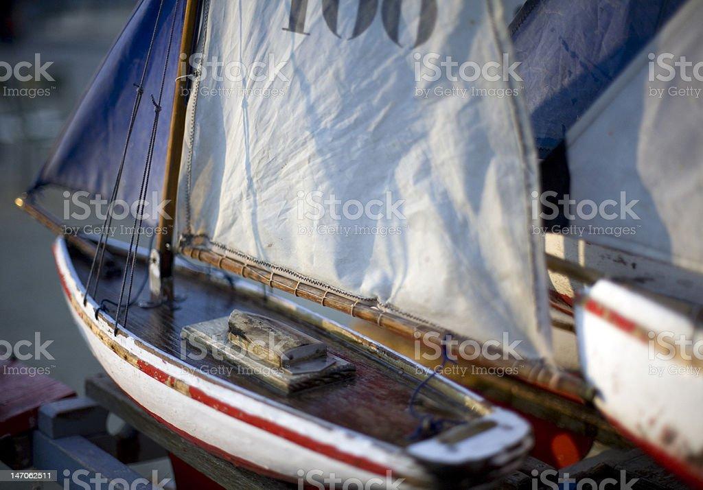Model Boats royalty-free stock photo