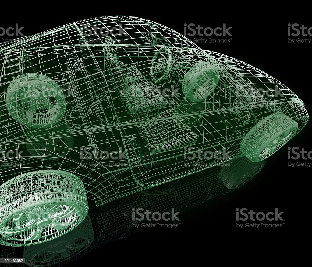 Model car stock photo
