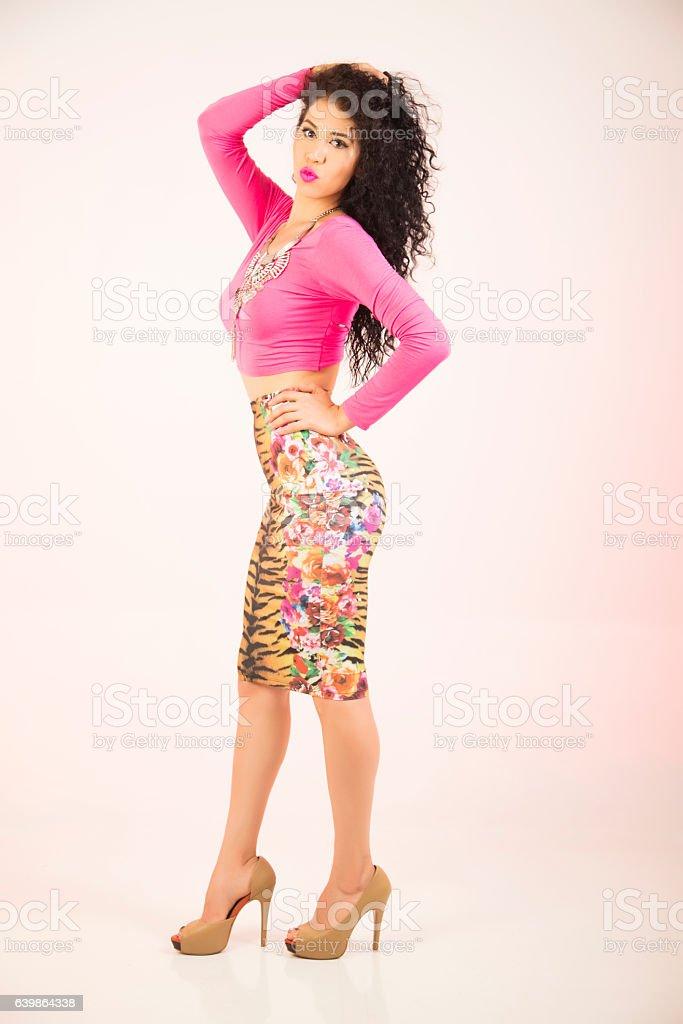 Model Girl stock photo