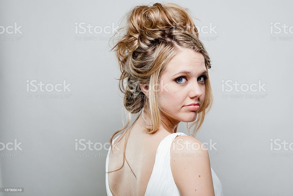 Model Headshot royalty-free stock photo