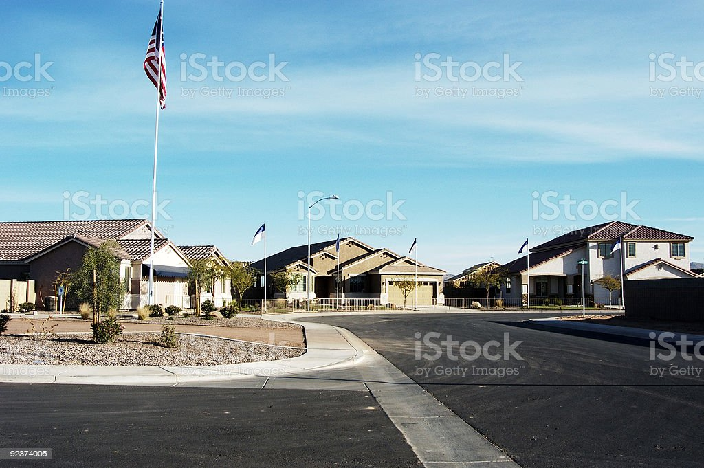 Model homes 1 royalty-free stock photo