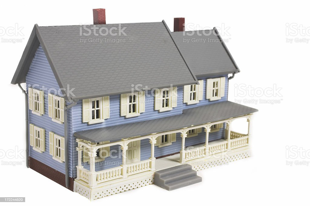 Model house royalty-free stock photo