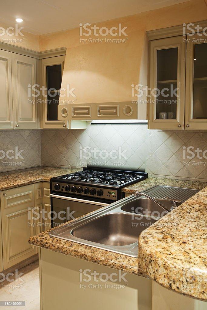 Model Kitchen Interior Design Vt royalty-free stock photo