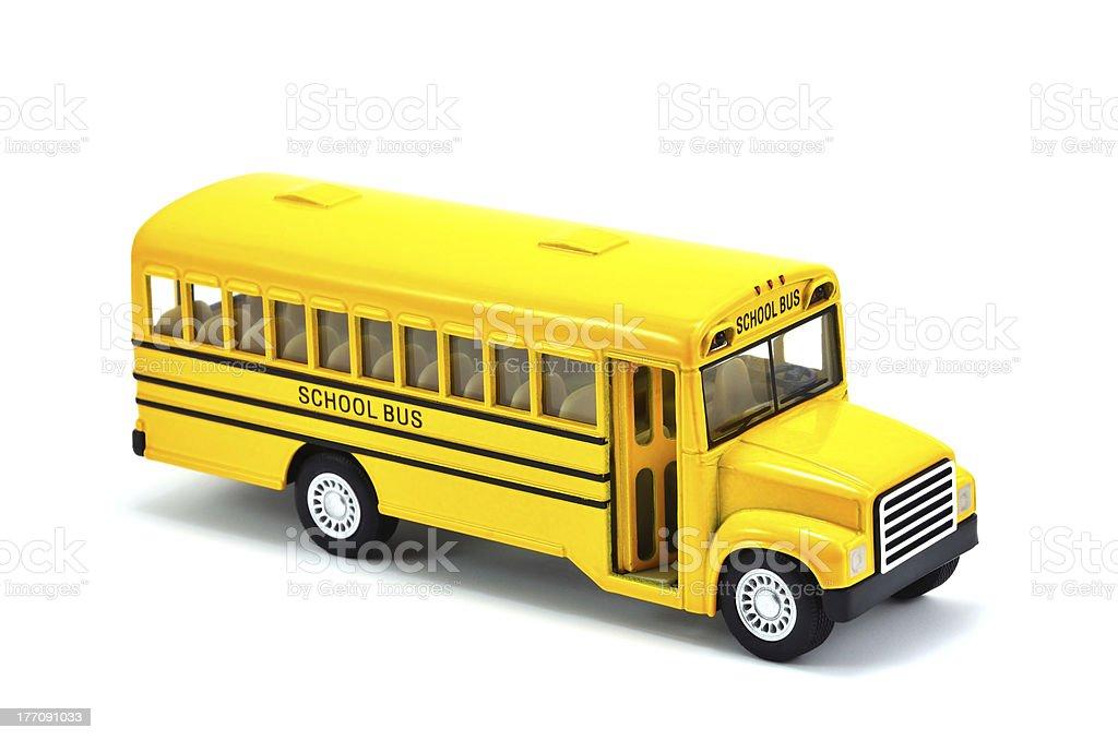 Model Of School Bus royalty-free stock photo