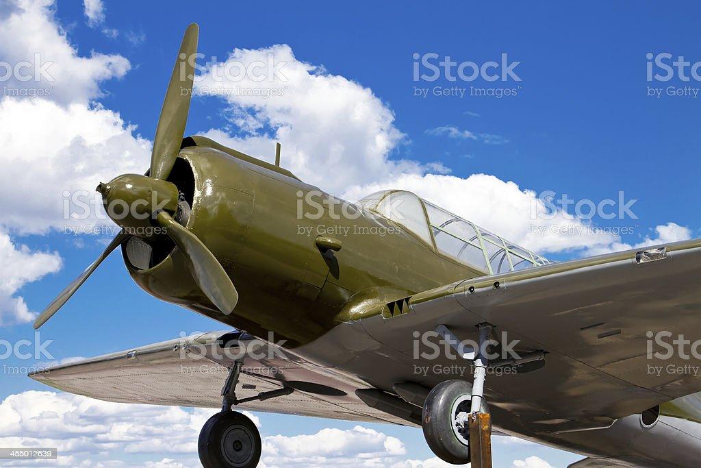 Model of the SU-2 stock photo