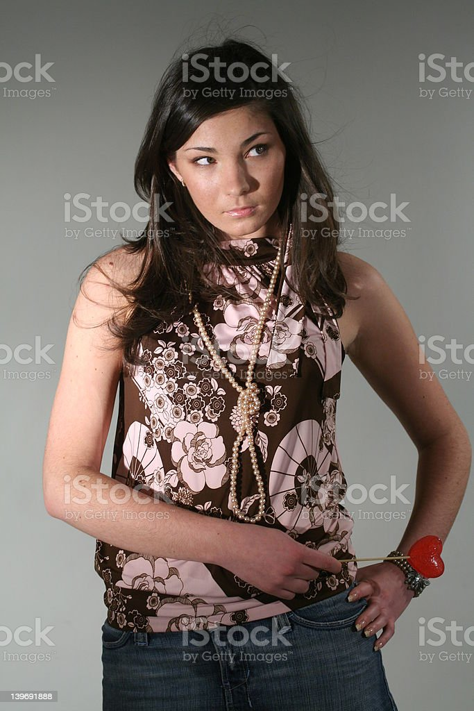 Model royalty-free stock photo